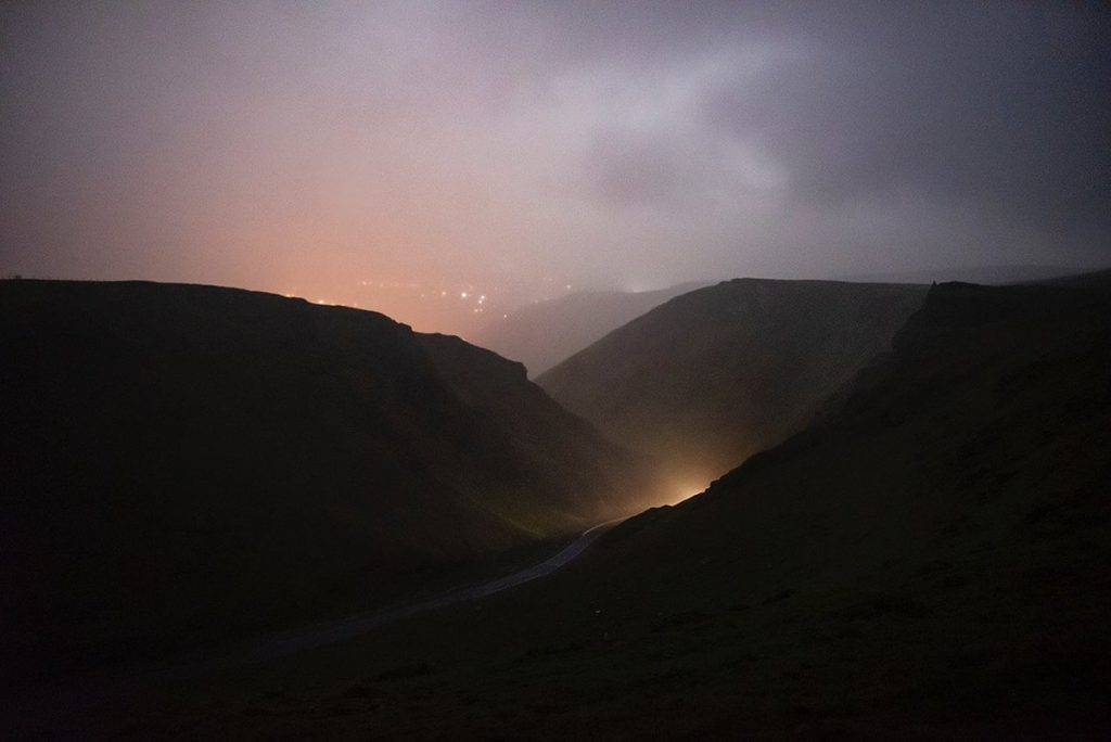 Winnats Pass in the rain & mist by Andrew Brooks @AndrewPBrooks