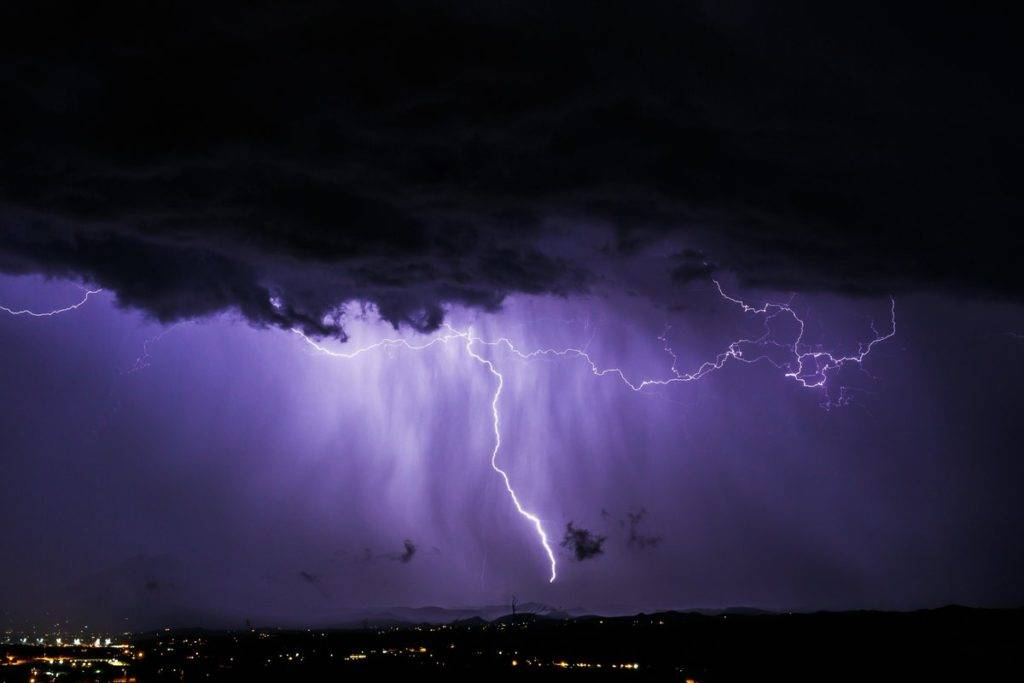 2nd Place A late night monsoon storm pulverizes Rio Rico, AZ by Lori Grace Bailey @lorigraceaz