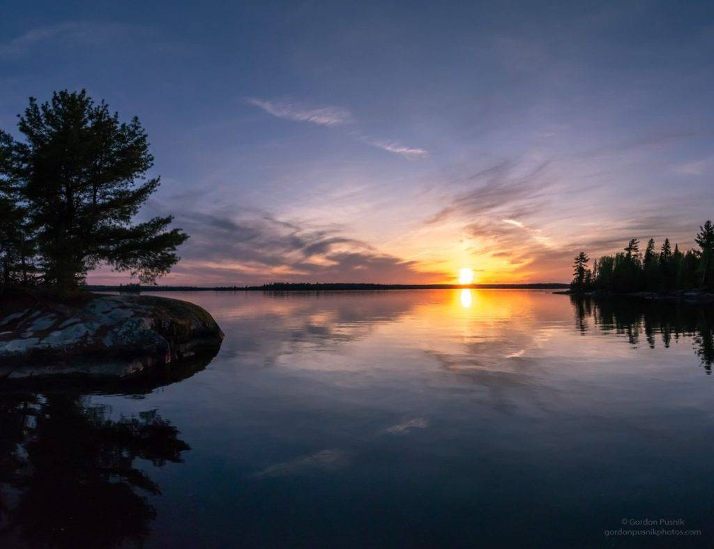 3rd Place Perfect calm on the lakes of N.W. Ontario by Gordon Pusnik @gordonpusnik