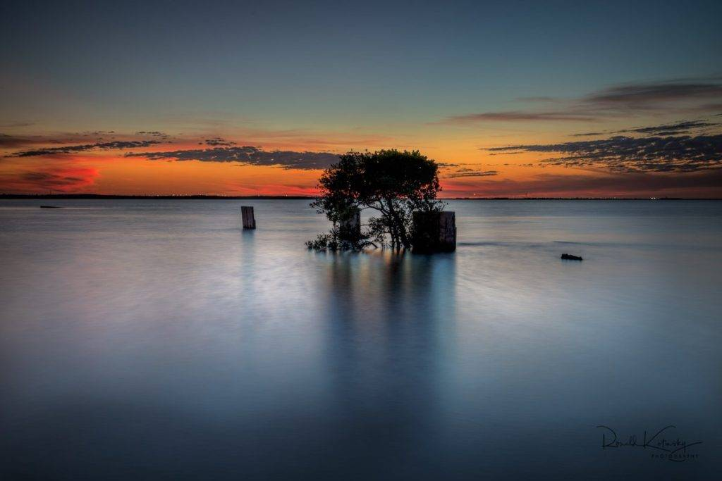 A long twilight exposure blend - Tampa Bay at the Gandy by Ronald Kotinsky @rkotinsky