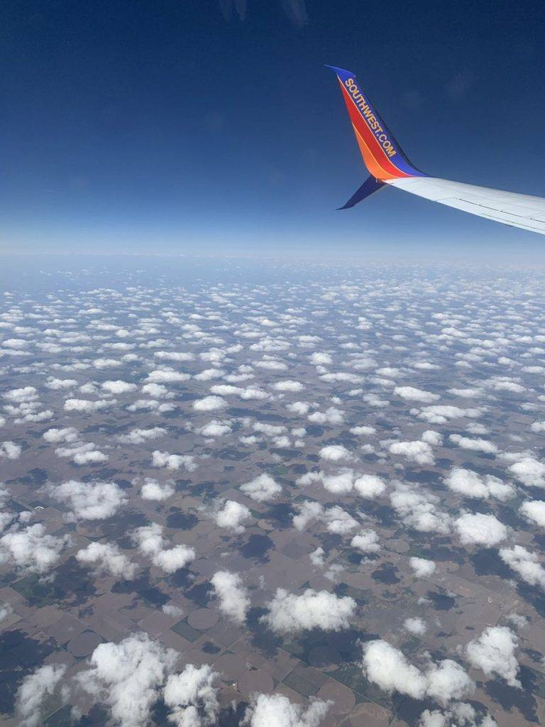 Cumulus field flying over Kansas this afternoon by Erik Kostrzewa @FOX17Erik