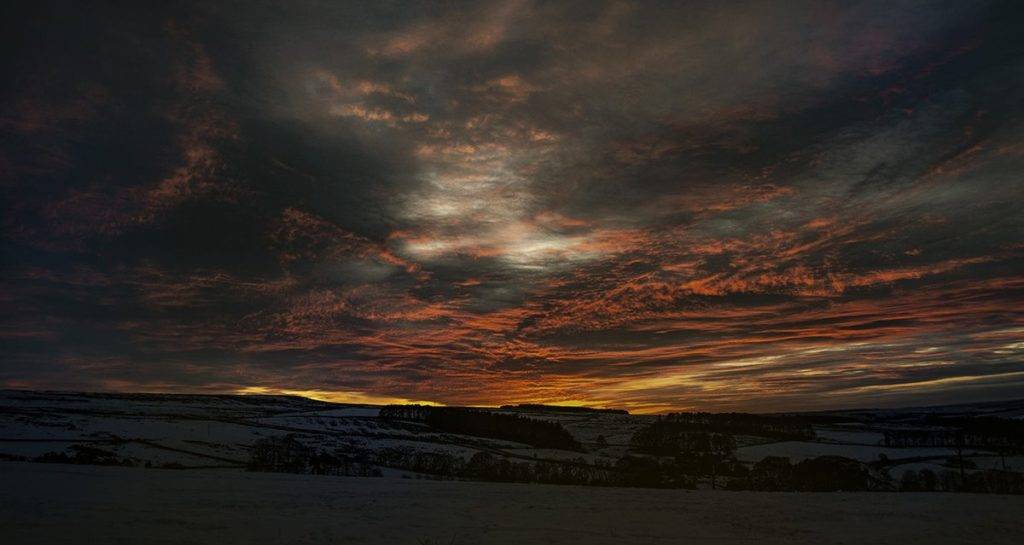 Northumbrian fire by Mackenzie King Photography @amkingphoto