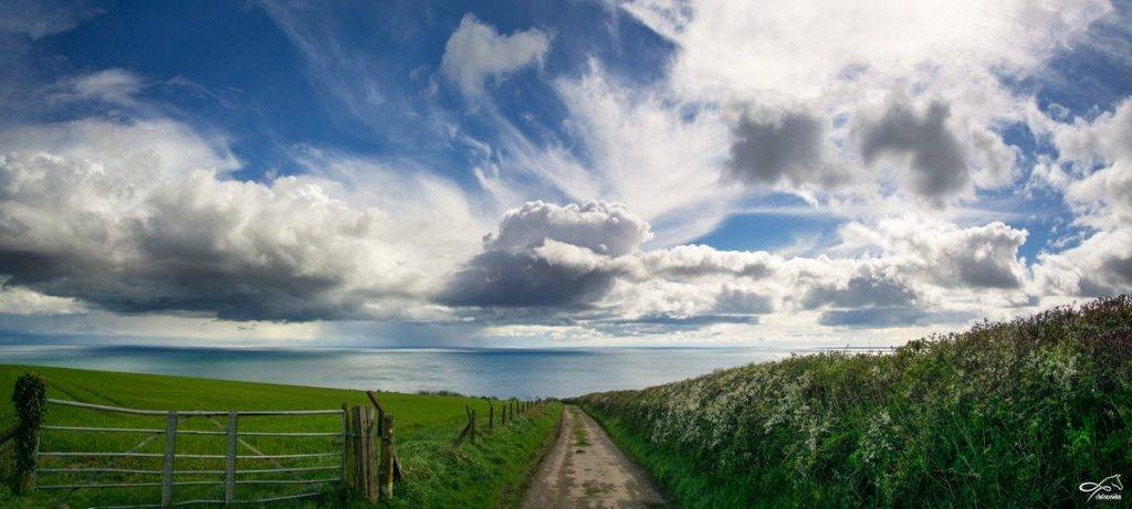 Spectacular views near Brixham, Devon by chelseasider @chelseasider