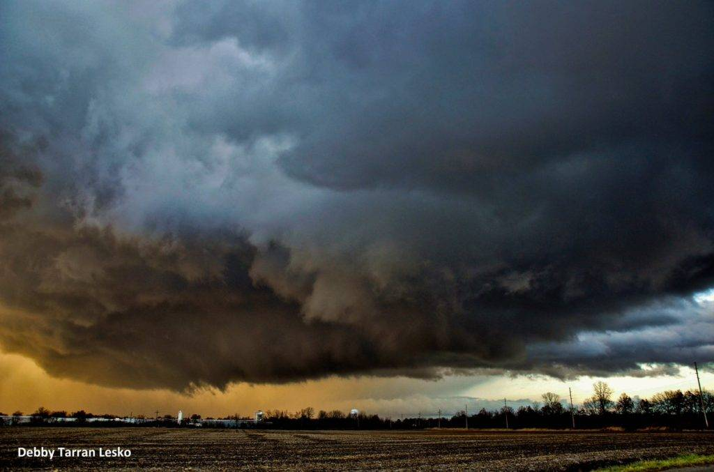 Storms across the countryside by debby lesko @maggietime