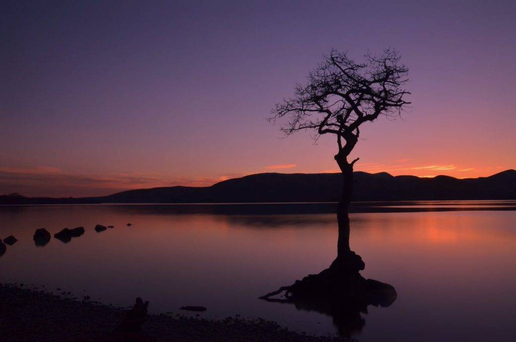 Sunset over Loch Lomond by Charles McGuigan @CharlesMcGuiga2
