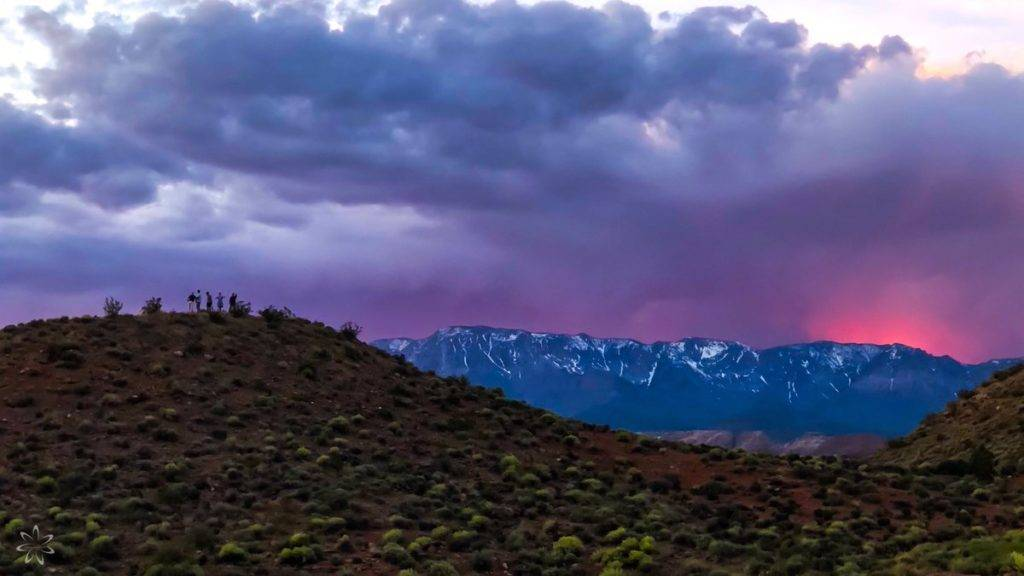 Swoon worthy sunset over Utah by Stacey Anne Leeson @StaceyALee