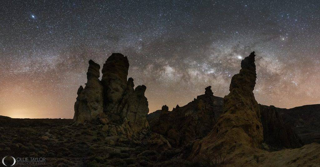 The Milky Way over Tenerife by Ollie Taylor @OllieTPhoto