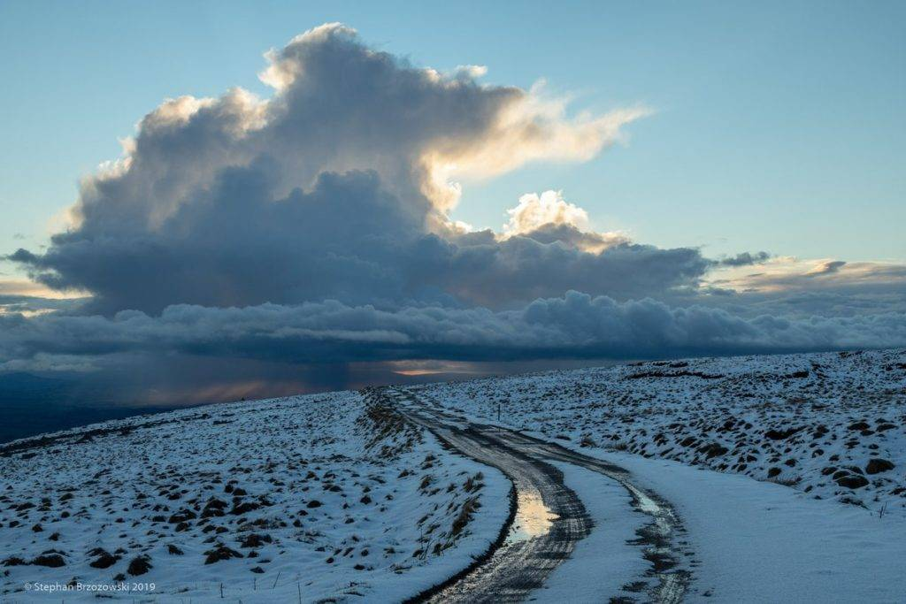 Wintry scenes from Cumbria looking down onto the Eden Valley by Stephan Brzozowski @stephanbrz