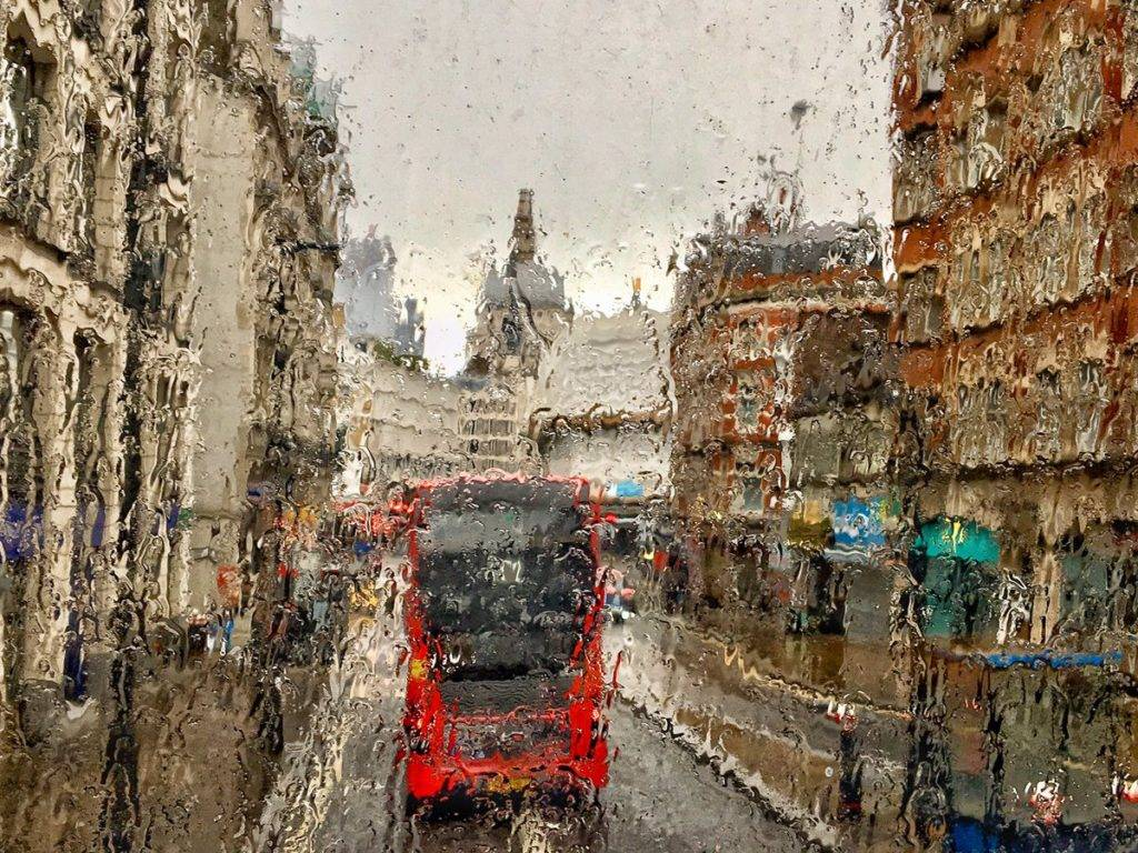 2nd Place This miserable wet day in London could make a great jigsaw puzzle by Ruth Wadey @ruths_gallery