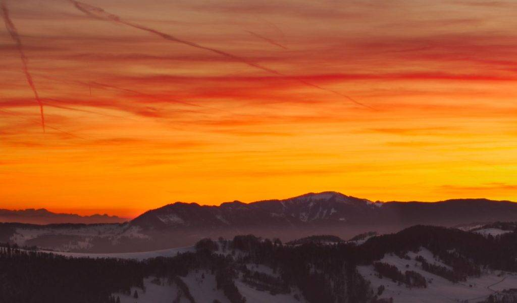 3rd Place View from the Vogelberg in the Jura mountains in Switzerland by Wetter Ludwigsburg @lubuwetter