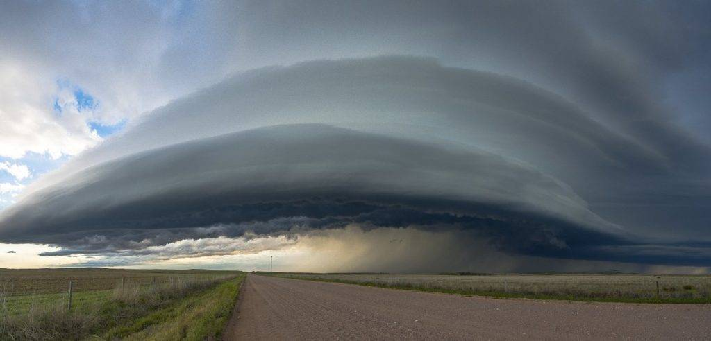 Supercell north of Wray, Colorado on Memorial Day by Ted Silvius @TedSilvius