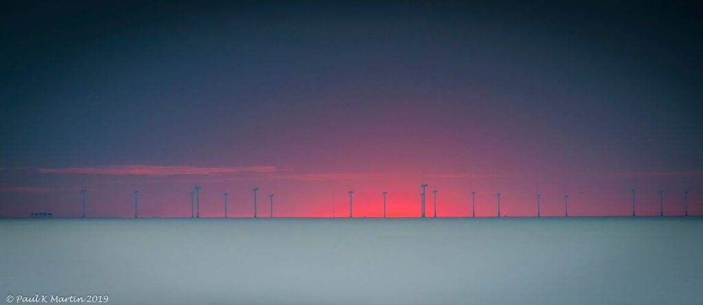 Afterglow - Summer Solstice From Reculver, Kent by Paul Martin @PKnndyMartin