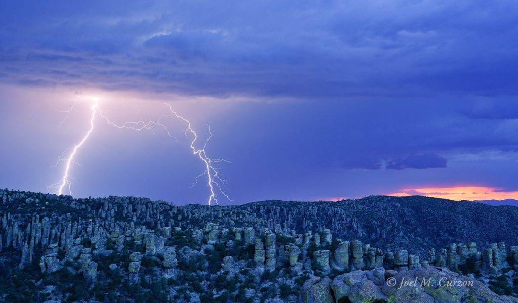 Evening monsoon storm in the borderlands. Southern Arizona Joel M. Curzon @JoelMCurzon