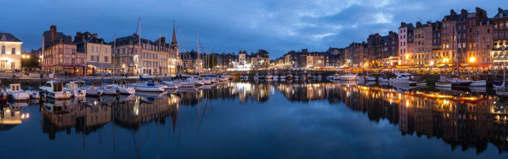 Honfleur Harbour by Gill Prince