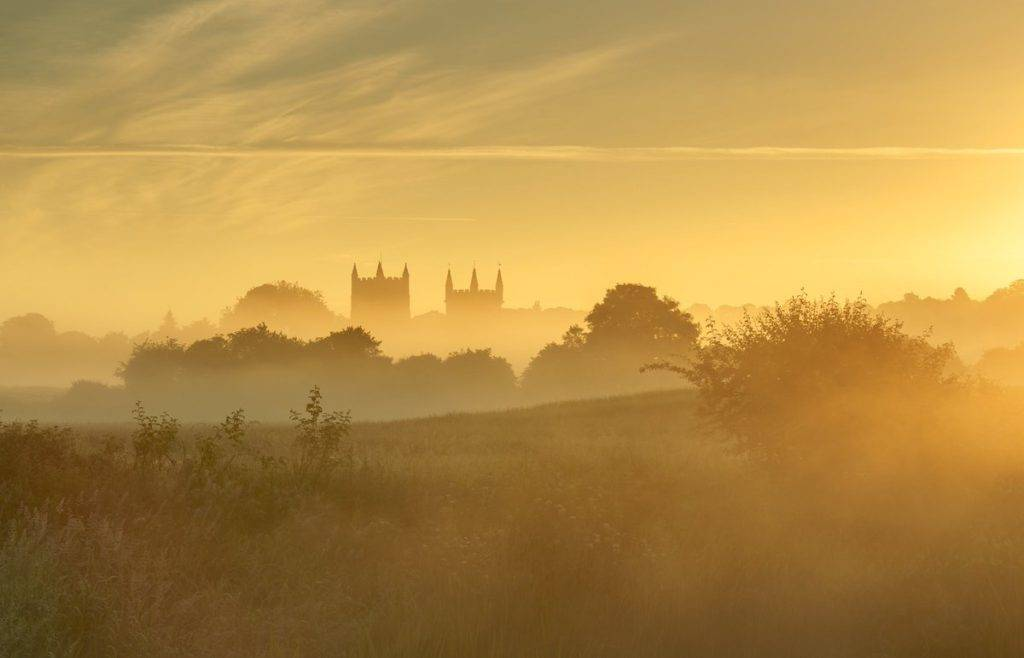 Lovely light over the minster by steven hogan @Steve_Hogan_