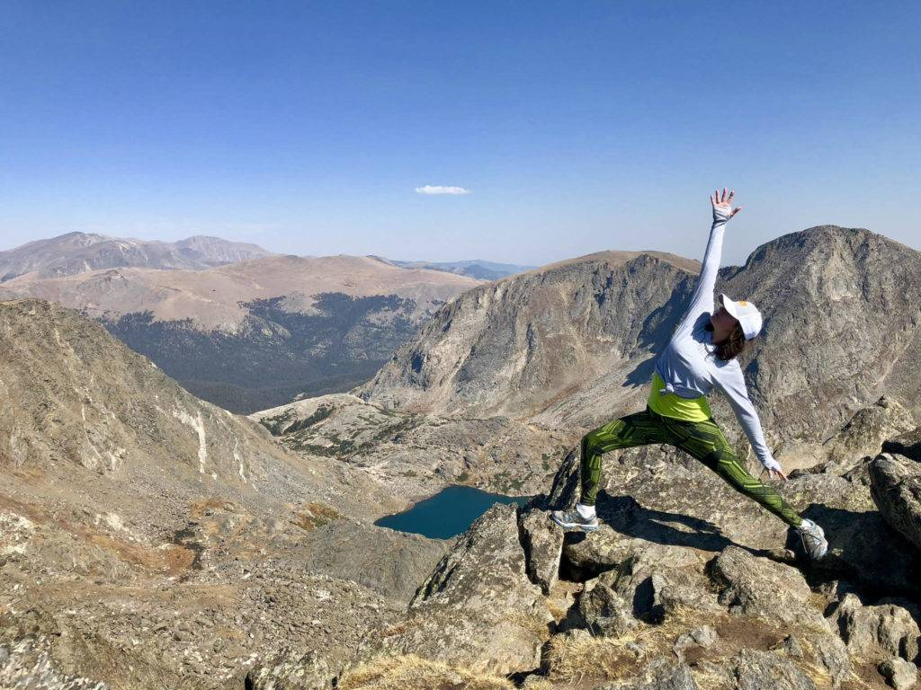 Meredith Garofalo At the top of Mount Ida, almost 13,000 feet up in the northern Front Range of the Rocky Mountains in Colorado.