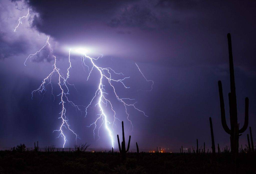 Monsoon storms of southern Arizona by Preston Garbe Photography @GarbePreston