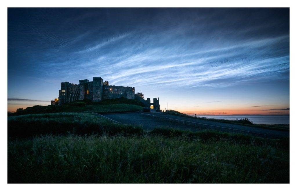 Noctilucent Clouds from Bamburgh_Castle by ALAN LEIGHTLEY @ilovefridaysme