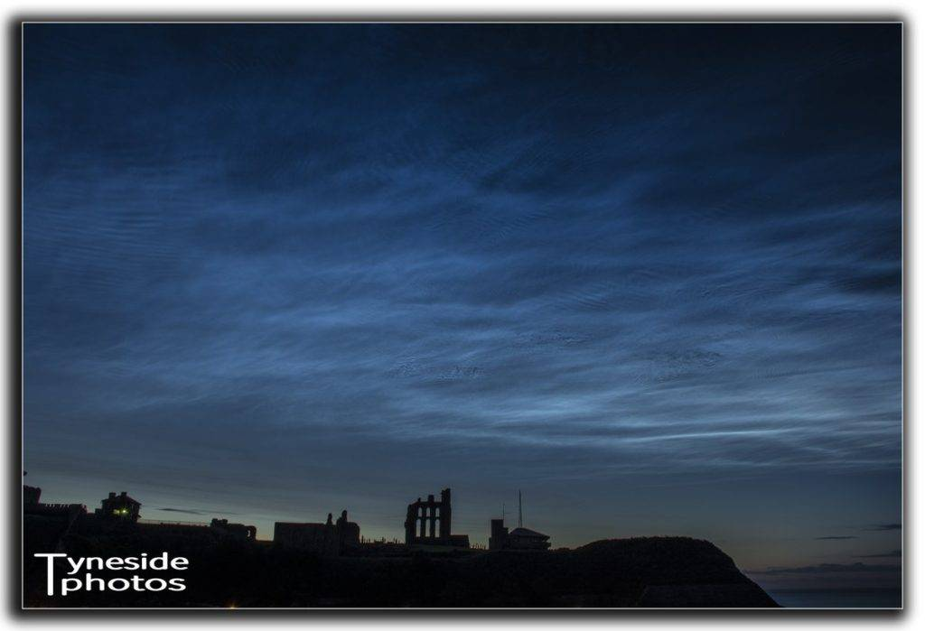 Noctilucent clouds over north Tyneside by tynesidephotos.co.uk @the_zigmeister