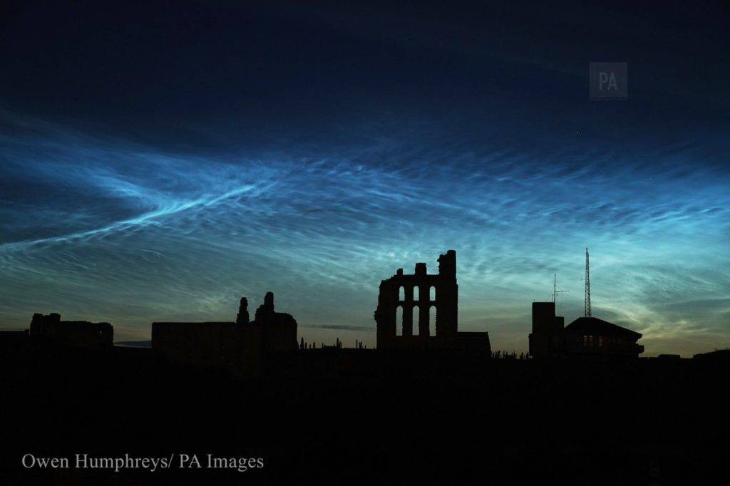 Noctilucent display in the North East UK by Owen Humphreys @owenhumphreys1