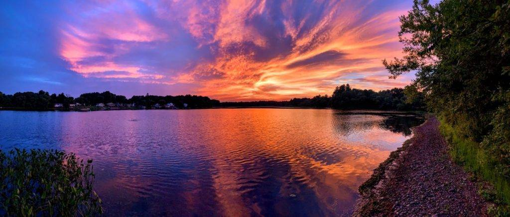 2nd Place Sunset in Georgetown, Massachusetts by Stephanie Glennon @SMartinGlennon