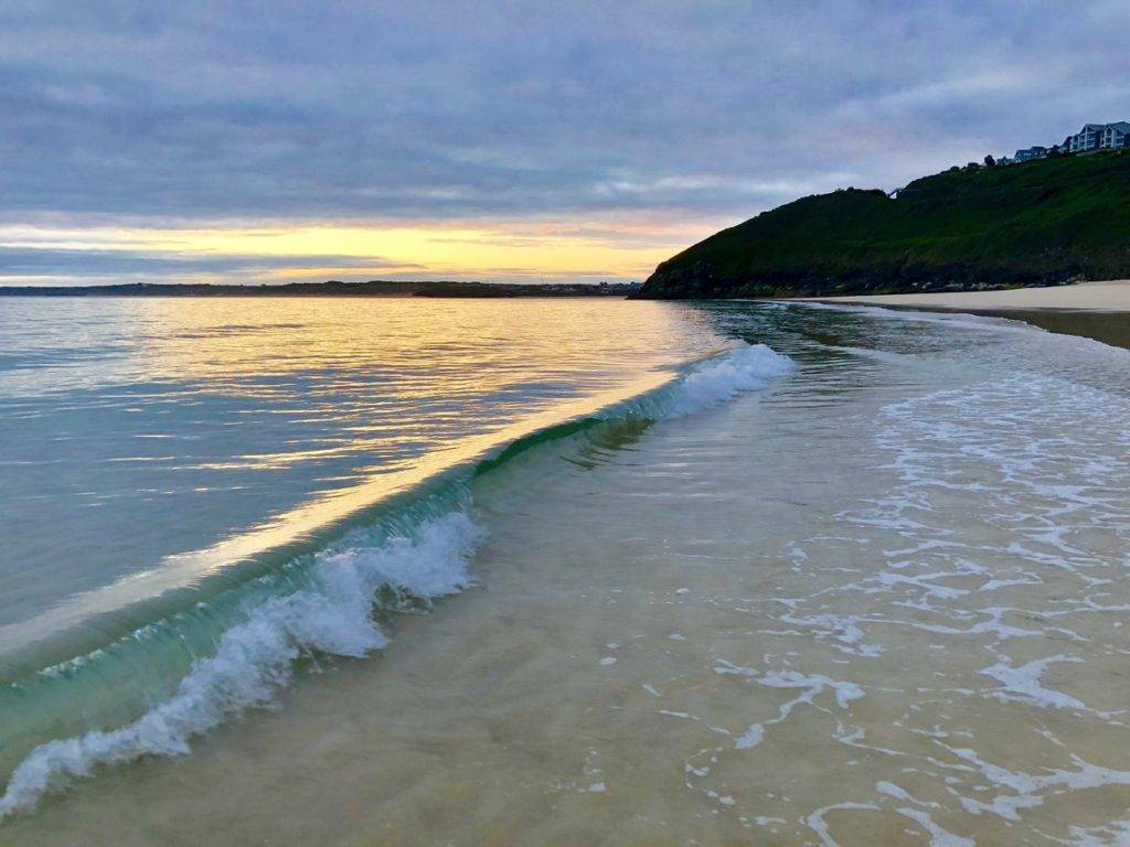 Carbis Bay Sunrise by Lisa Brown @BrownieLB_1