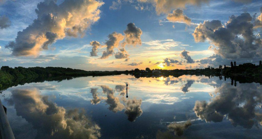 Dawn along the Legacy Bike Trail near Nokomis, Florida by Daniel Eidsmoe @Daniel_Eidsmoe