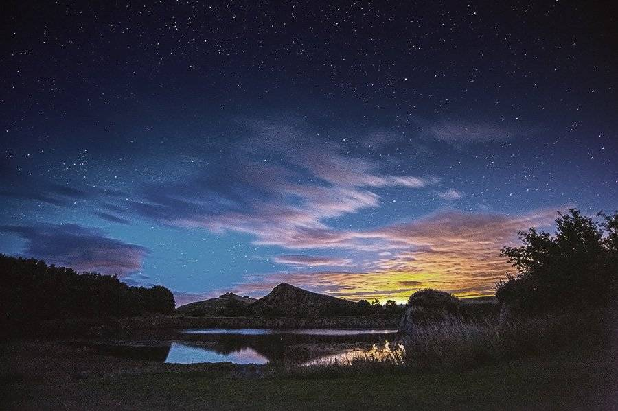 Goodnight from Northumberland - Hadrians wall by Corvid Tales @CorvidTales