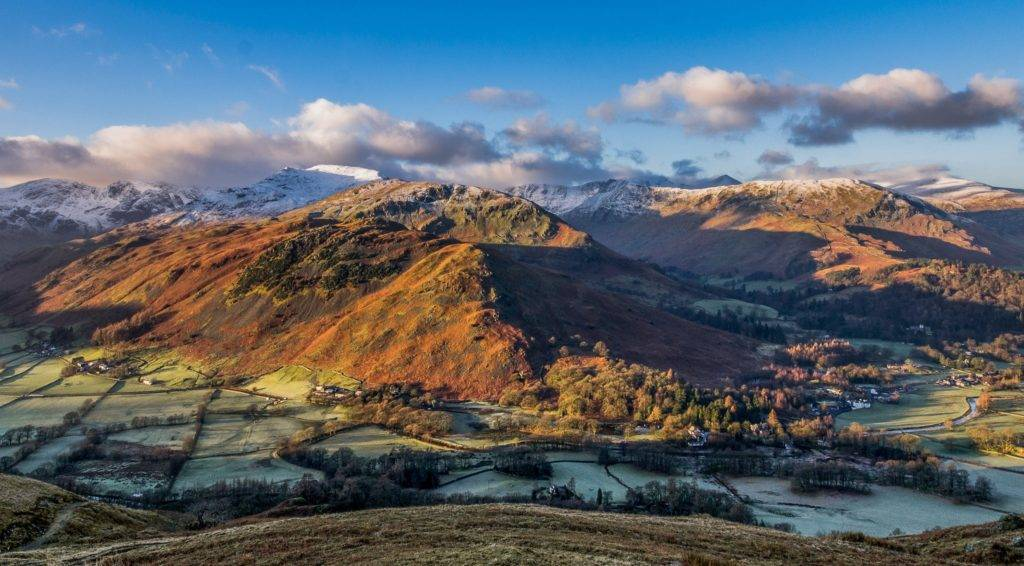 Patterdale and the Helvellyn range Jason Lambert @jaselambert76