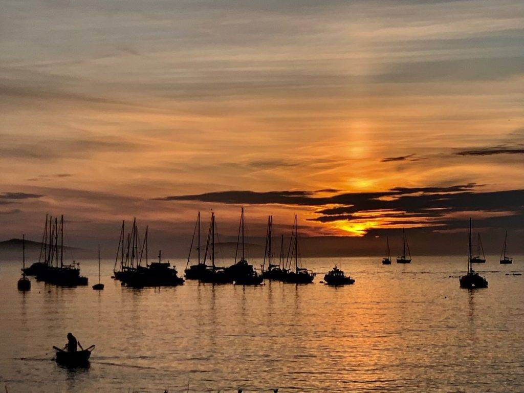 Scillonian sunset by allison darling @ajdc123