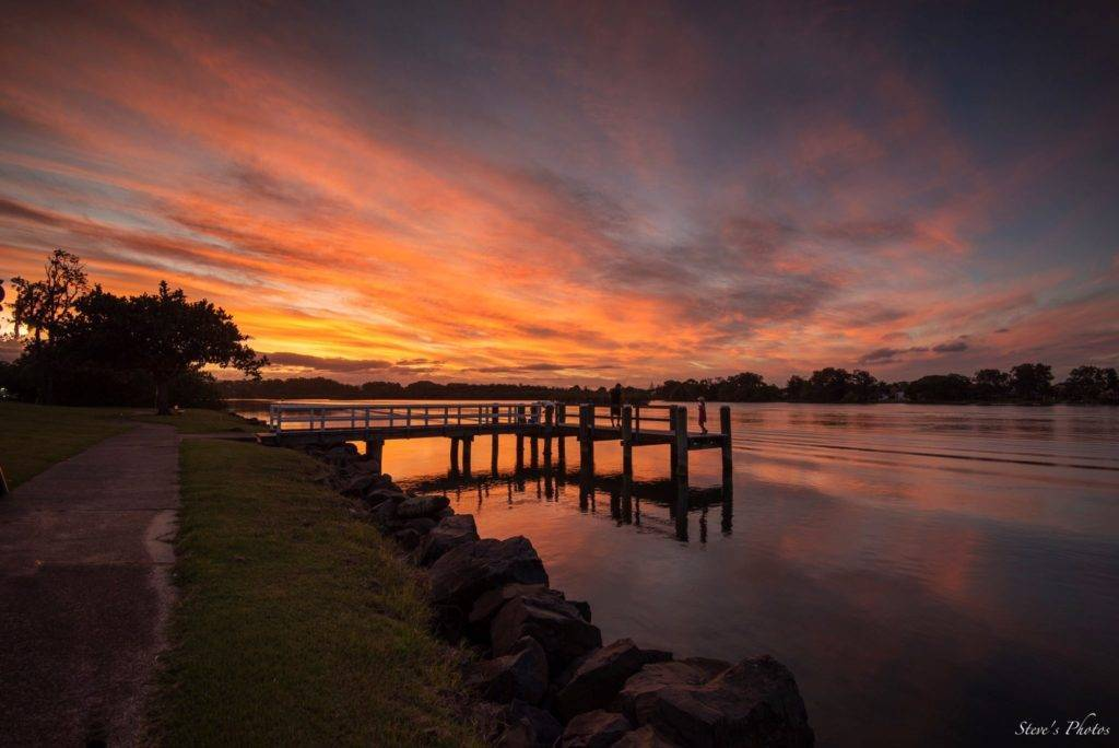 Sunset from the Tweed River, New South Wales, Australia by Steve Berardi @Marcus_0312