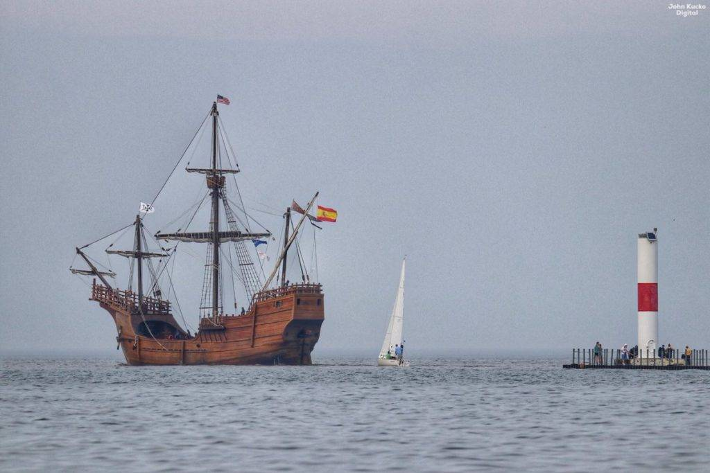The Nao Santa Maria replica ship shuffles off to Buffalo by John Kucko @john_kucko