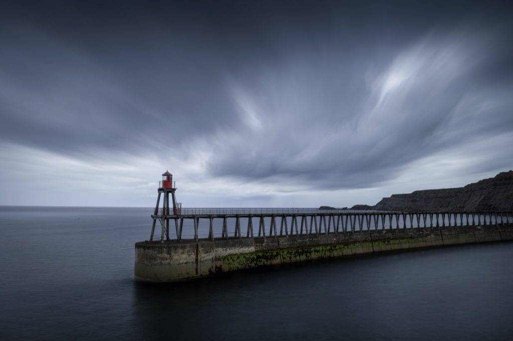 Whitby harbour pier by Ryan Harris @ryanharrisphoto