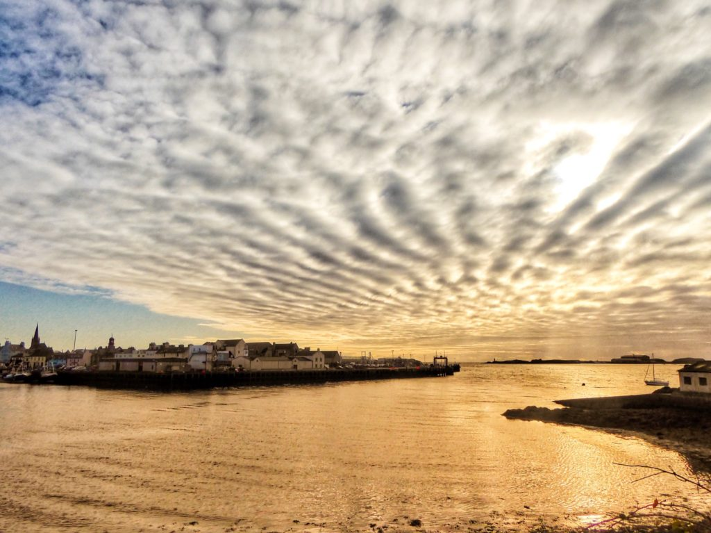 1st Place Spectacular Stornoway Sky, Isle of Lewis by john dyer @wildswimmer67
