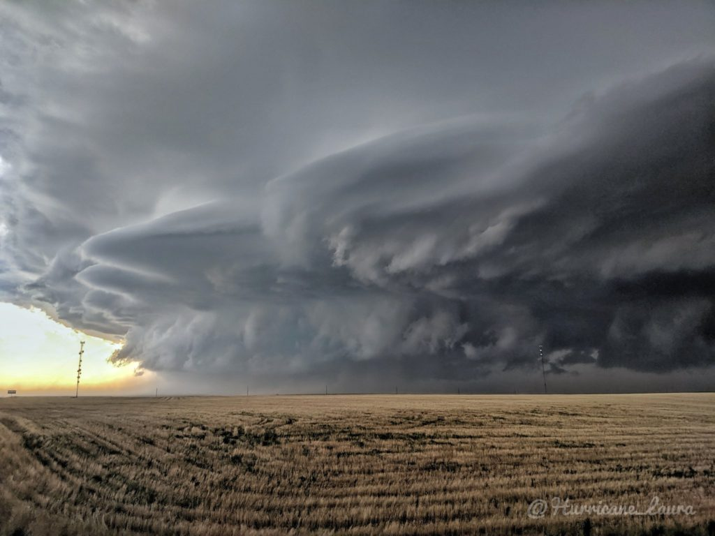 Monster Supercell in eastern Colorado by Laura Smith @Hurricane_Laura