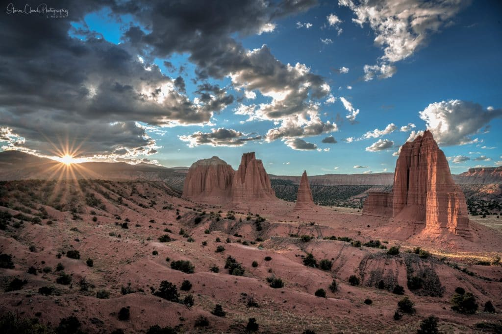2nd Place Cathedral Valley in Capitol Reef Utah at sunset by Laura Hedien @lhedien