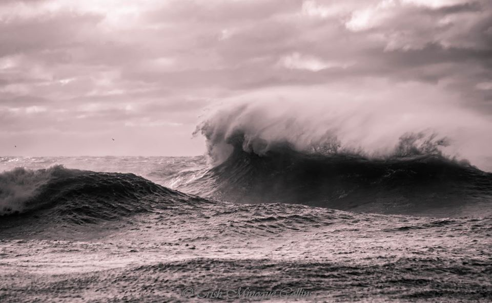3rd Place Surf off Montauk Point, NY by Trish MinogueCollins @TrishMinogPhoto