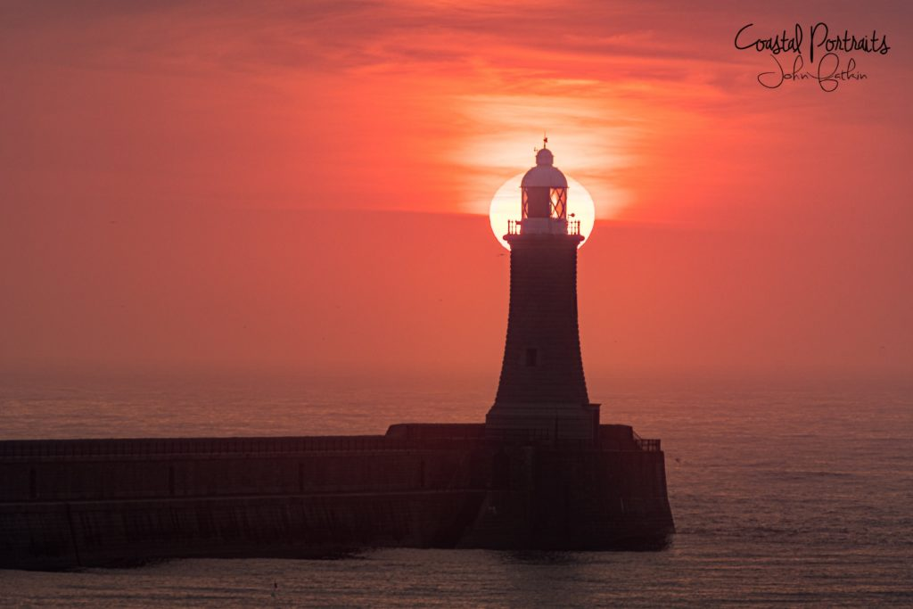 3rd Place Tynemouth Pier, Lighthouse by Coastal Portraits @johndefatkin