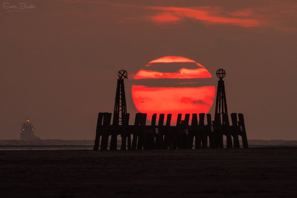 Sunset at St Annes by Sonia Bashir @SoniaBashir_