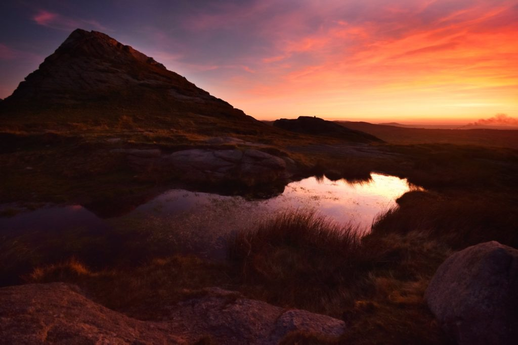 Hen mountain, the Mournes after sunset by Jen Duffield @jennyd198