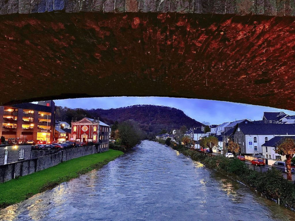 'Under the bridge' Pontypridd, South Wales by Sheena Parry-Davies @davies_parry