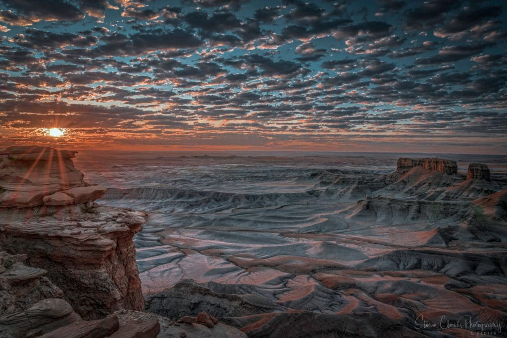 2nd Place Sunrise in the badlands in central Utah by Laura Hedien @lhedien