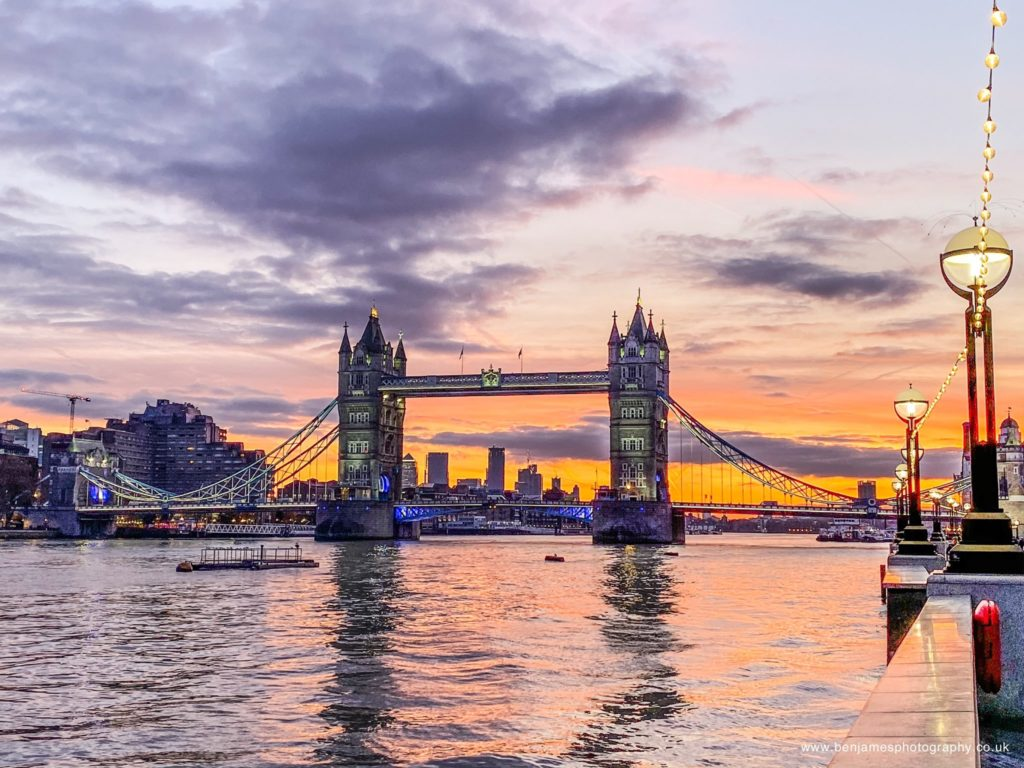 2nd Place Tower Bridge at dawn by Ben James Photography (BA James) @BenJamesPhotos