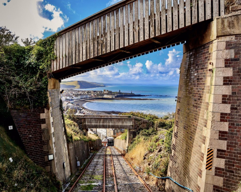 3rd Place The view from the Cliff Railway in Aberystwyth, Ceredigion,Wales by SOLOwePhotography @SOLowePhotogra1