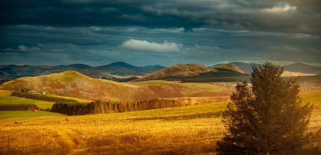 Border Hills. Looking into Scotland from Carter Bar by Mackenzie King Photography @amkingphoto