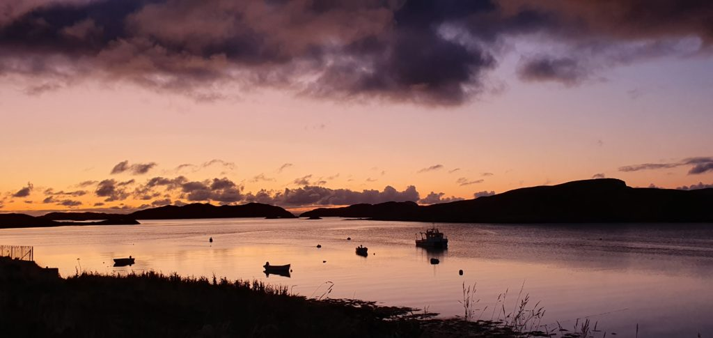 Daybreak on Loch Leurbost, Isle of Lewis, Outer Hebrides by Nic IlleMhoire @nicillemhoire