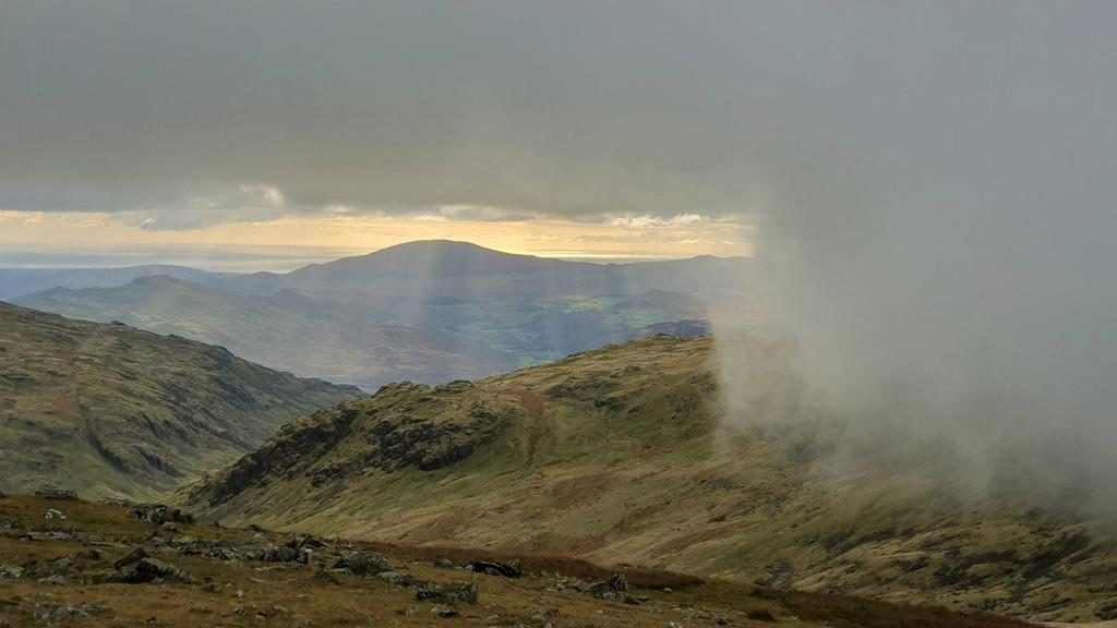 From the 2500ft summit of Grey Friar in the English Lake District by Graham Fraser @frasergj