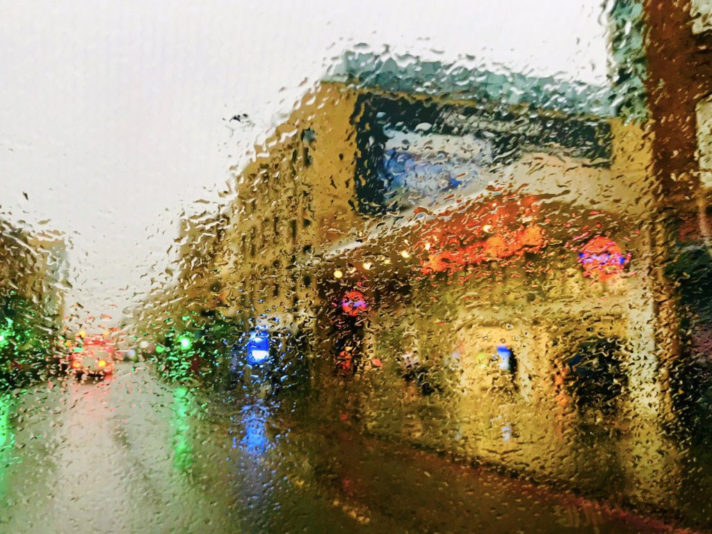 Soggy wet Friday morning in Dalston east London by Nicholas Dunbar @NickDunbar77