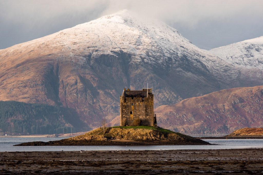 1st Place Castle Stalker Argyll, Scotland by Daniel @danny_ltd
