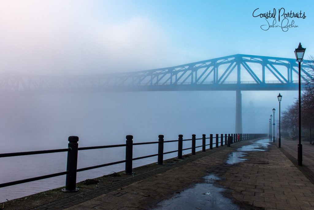 1st Place Fog on the Tyne by Coastal Portraits @johndefatkin